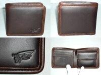 レッドウィング[REDWING]クロムエクセルレザー二つ折り財布チョコ960-2102