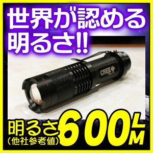 懐中電灯 LED懐中電灯 ライト LEDライト GENTOS/SUPERFIRE/LED LENSER等の製品以上の明るさを実...