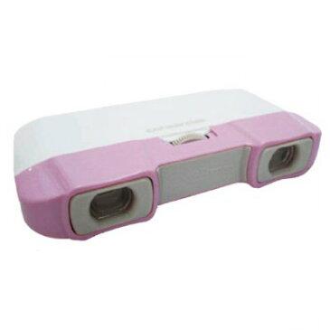 ポケットイン 双眼鏡 3倍×口径28mm(ピンク) ( UM-1835 / CAG10252821 )【 キャプテンスタッグ 双眼鏡 オペラグラス 】【QBI47】
