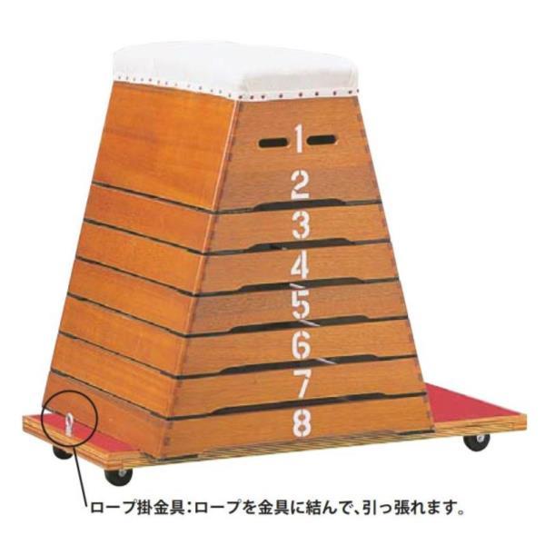 跳箱運搬台車 LT型 ( S-5136 / SWT10322582 )送料ランク【C】【 三和体育 】【QBH33】