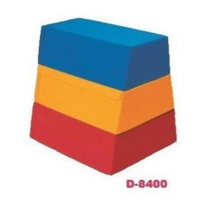 ソフトとびばこ3段(3色) ( D-8400 / DAN10327548 )送料【お見積】【 ダンノ 】【QBH33】