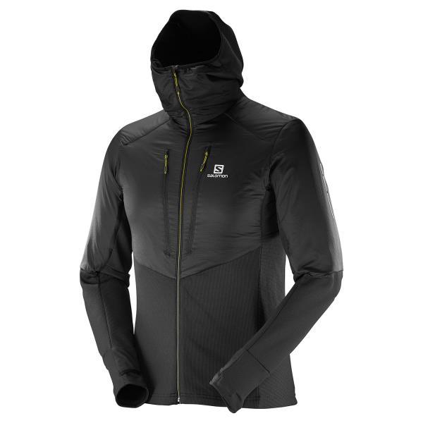 サロモン インサレーションジャケット ドリフターエアーミッドフーディ メンズ