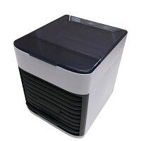 冷風機 小型 冷風機 卓上 冷風扇 卓上 USB 扇風機 ポータブル 冷風機 #30636 USBポータブル冷風扇 クールブリーズ ミスト 【DIK】【QCB27】