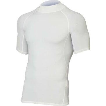 アンダーシャツ メンズ Tシャツ メンズ トップス メンズ UA HG ARMOUR MOCK SS WHT/GPH 【UDR】