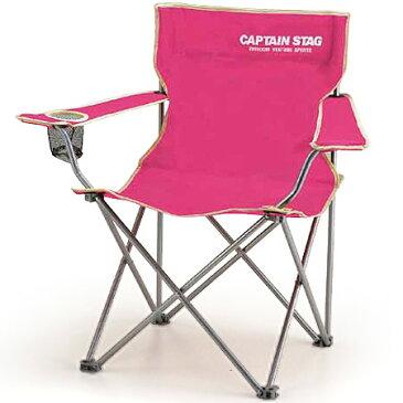 パレットラウンジチェアtype2(ピンク) (AP160057/M-3915)【椅子】【イス】【レジャーチェア】【ピクニックチェア】【キャプテンスタッグ】【QCA41】