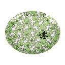 ディズニー メラミンプレート19cm(ミッキーマウス・クローバー) (AP228421/MA-1325)【QBI25】