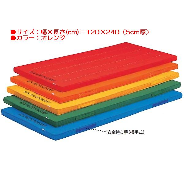 エコ・抗菌カラーマットすべり止付(枚)(オレンジ) EKM027 (JS83864) 送料ランク【D】 【エバニュー】【QBH33】:Field Boss