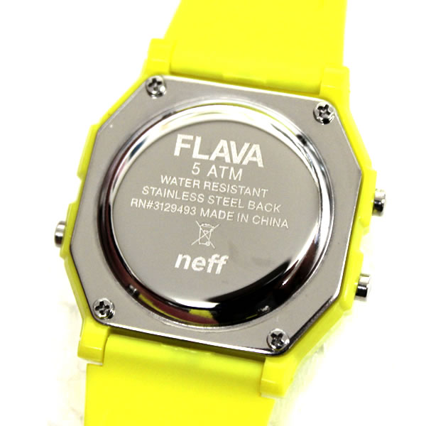 neff ネフ メンズ レディース Neff Flava Watch Unisex  時計 ライム ウォッチ サーフ ストリート系 メンズファッション スノボー スケボー サーフィン ウェア 夏 あす楽 即日発送
