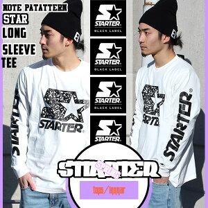 STARTERの長袖Tシャツ