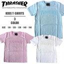 THRASHER KIDS スラッシャー キッズ 半袖Tシャツ マグロゴ メンズTシャツ TH8102FF