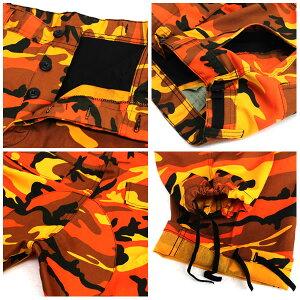 ROTHCOロスコBDUカーゴパンツオレンジカモメンズ6ポケットカモロスコ迷彩ろすこARMYROTHCOカモ迷彩柄メンズアメカジカーゴパンツTシャツバッグ