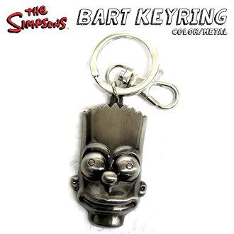 辛普森一家 / 辛普森一家 》 鑰匙扣金屬壞銀金屬環、 鑰匙圈、 漫畫、 金屬鍵,對,