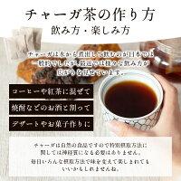 チャーガ健康園・樺宝寿ティーバッグおためし5包初回購入のみ