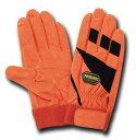 PRO HANDS富士グローブ【JH-620】人口皮革手袋 オレンジ≪ゆうパケットの場合2双まで可≫