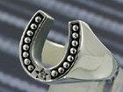 ホースシューリング 馬蹄 シルバーアクセサリー メンズ シルバーリング 指輪 シルバー925 メンズアクセサリー 送料無料