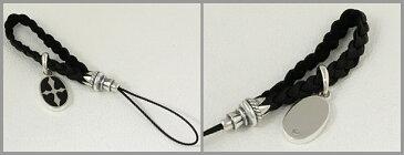 クロス シルバーアクセサリー 携帯ストラップ シルバー925 チャーム ペンダント ネックレス 送料無料