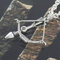 弓 矢 ボウ&アロー シルバーアクセサリー メンズ ネイティブ シルバーペンダント ネックレス シルバー925 メンズアクセサリー 送料無料