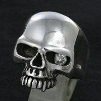シルバーリング 指輪 silver925 スカルリング ドクロ スカル シンプル スタンダード メンズ レディース シルバー リング シルバーアクセサリー メンズアクセ プレゼント・ペアリングに大人気 送料無料
