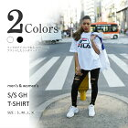 FILA(フィラ)GHTシャツ男女兼用UNISEX2018春夏ホワイトブラック(VULCAN)全2色FM9212S/SGHT-SHIRT
