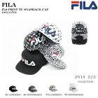 FILA(フィラ)FLSPRINTTCSNAPBACKCAP185113701[帽子][キャップ][総柄][スナップバック][カジュアル][スポーツ][ストリート][アウトドア][2018][アニマル柄]57~59cm男女兼用のキャップです。