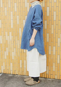 Off shoulder coverall apron paper pattern