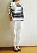 【new】2wayドロップショルダープルオーバー型紙使用半袖Tシャツ16番双引き揃えボーダーキット