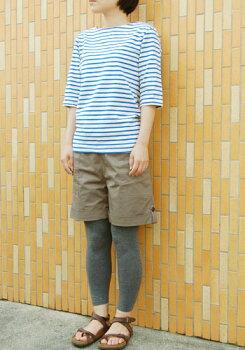 【ワンコイン】リラックスボートネックTシャツ型紙