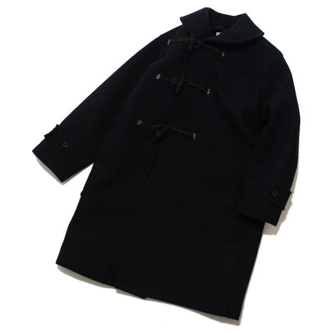 KAPTAIN SUNSHINE(キャプテンサンシャイン)Shawl-Collar Duffle Coat Navy ショールカラーダッフルコート:フィルストア
