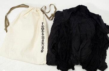 【11月24日に値下げ】ifsixwasnineイフシックスワズナイン TXS3 0351Sタキシードシャツ【LSHA36377】【ブラック】【0】【中古】【2点以上同時購入で送料無料】【DM160903】
