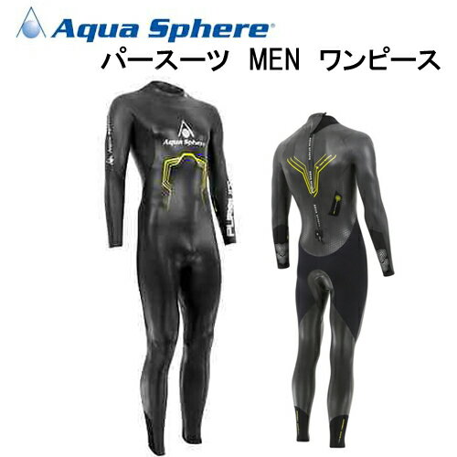 アクアスフィアー Aqua Sphere PURSUIT ONE-PIECE MEN パフ...