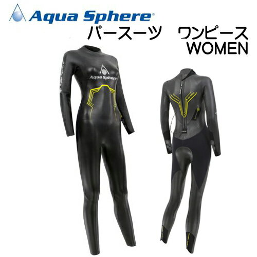 アクアスフィアー Aqua Sphere PURSUIT ONE-PIECE WOMEN...