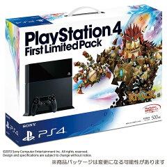 超希少!!残り僅か!!【予約】2/22発売★PS4★PlayStation4 First Limited Pack(HDD500GB/ジェッ...