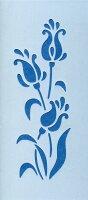 ファインホームのステンシルシートお花のパターンFfh-315L