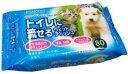 ★★ 最大350円OFFクーポン ★★ペットプロ トイレに流せるウェットティッシュ 80枚