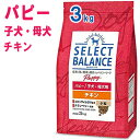 セレクトバランスパピー チキン 小粒 3kg(子犬・母犬用)【送料無料】【あす楽】