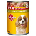 最大350円OFFクーポン 成犬用 旨みビーフ&チキン&緑黄色野菜 400g
