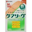 【ニチバン】 ケアリーヴ Mサイズ 100枚入 【衛生用品】