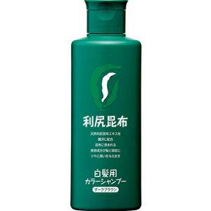 【ピュール】白髪用利尻カラーシャンプーダークブラウン200mL【日用品】