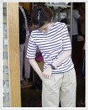 SAINT JAMES(セントジェームス)ピリアック半袖ボーダーTシャツ[Lady's]