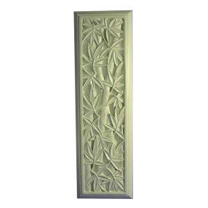 【벽걸이 인테리어】 석조 FRP 릴리프 패널 대나무 (대나무)
