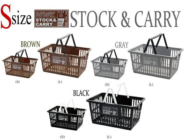 【Sサイズ】STOCK & CARRY(ストック&キャリー) マーケットバスケット/SHOPPIN...