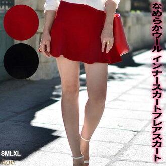 簡單的純色黑黑紅色的紅腿光滑腿趨勢成年女性時尚、 可愛酷的 flare 裙子裙子迷你裙圓裙高腰日期春天夏天的夏天