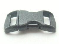 100個セットネコ首輪外れる安全セーフティープラスチックバックルBREAK-AWAY10mmクロメイドインUSA