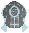 ★More Couture(モアクチュール) ネイルフォーム ブルー 500枚