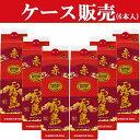 【ケース販売】赤霧島芋焼酎25度1800mlパック(1ケース/6本入り)