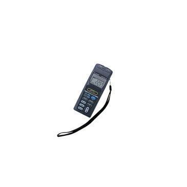 アズワン デジタル温度計(2ch多機能タイプ) 特急校正証明書付 1台 [1-591-13-23]