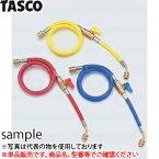 TASCO(タスコ) バルブ付チャージホース1/4(単品) TA134AA-1 赤 92cmバルブ付