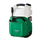 日立工機 18V/5.0Ah タンク式コードレス高圧洗浄機 AW18DBL(LJC) (電池1個・急速充電器付) 【在庫有り】【あす楽】
