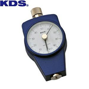 ムラテックKDS ゴム硬度計タイプA 置針型 DM-204A 押針形状:35°円錐台形