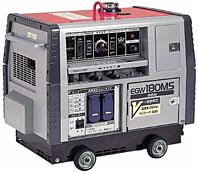 やまびこ(新ダイワ) ガソリンエンジン溶接機 EGW180MS-V 180A